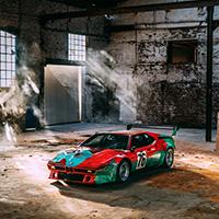 Kunstwerk op wielen door Andy Warhol